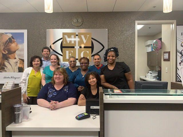 Staff at Montgomery Village Eye Center